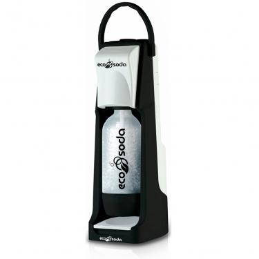 Сифон для газирования воды EcoSoda Smart черный/белый